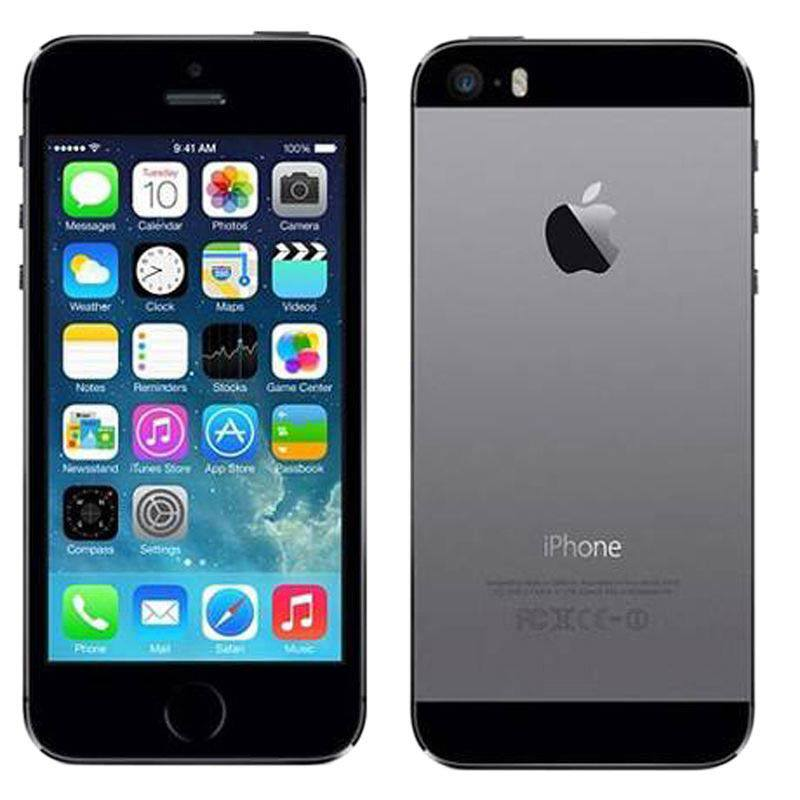 APPLE IPHONE 5S 64 GO SIDERAL GREY RECONDITIONNÉ GRADE A+ (photo)