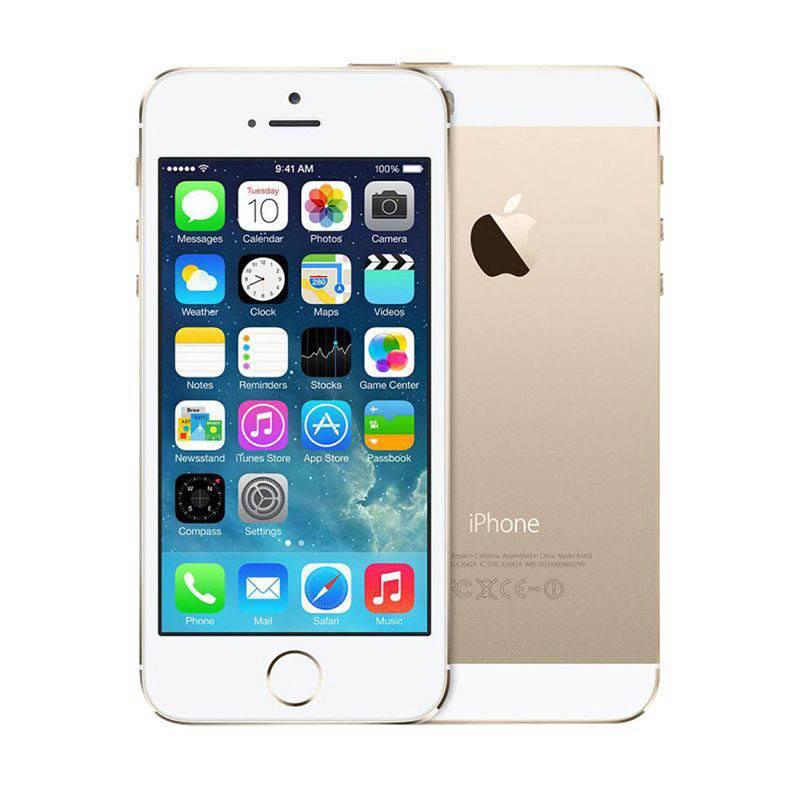 APPLE IPHONE 5S 64 GO GOLD RECONDITIONNÉ GRADE A+ (photo)