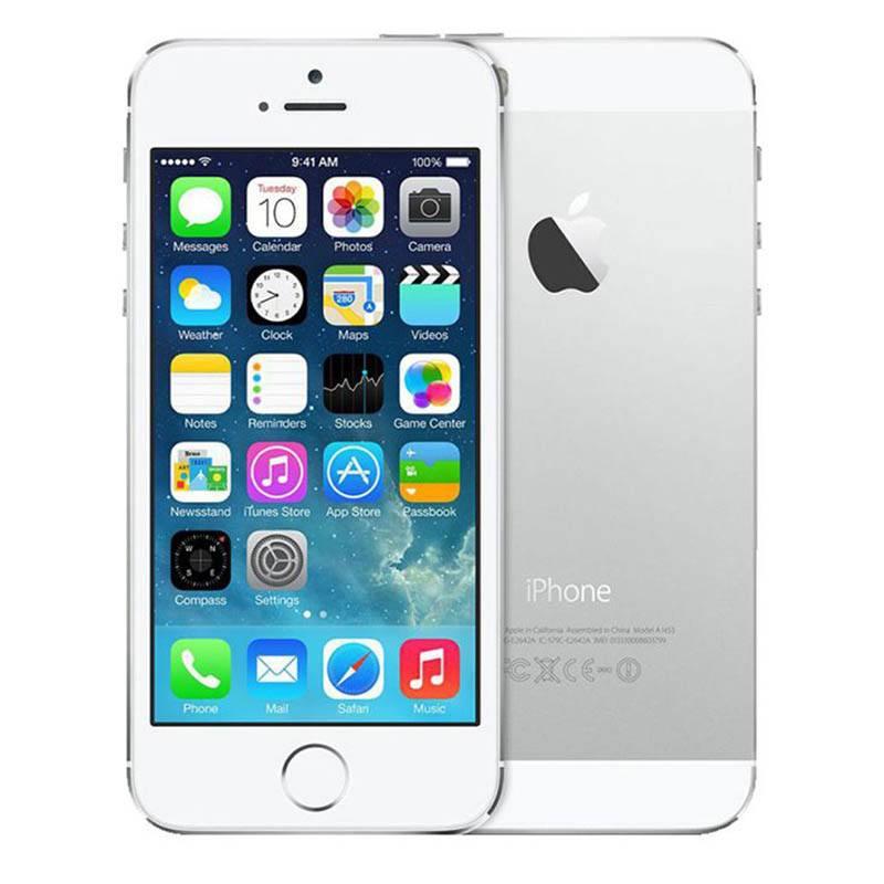 APPLE IPHONE 5S 64 GO SILVER RECONDITIONNÉ GRADE A+ (photo)