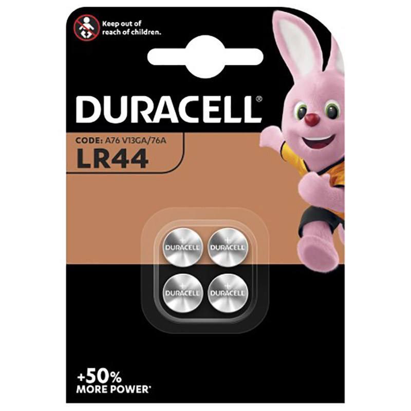 Pile DURACELL LR44 X4 (photo)