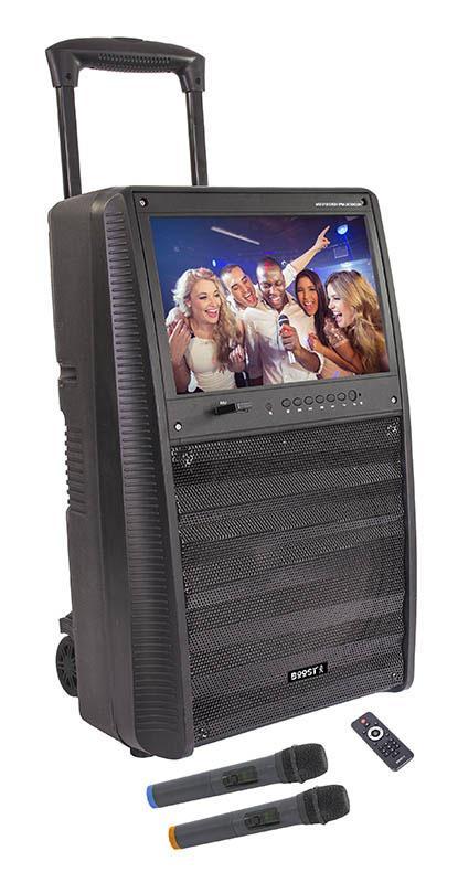 Enceinte Amplifiée Boost Karaoke Uhf
