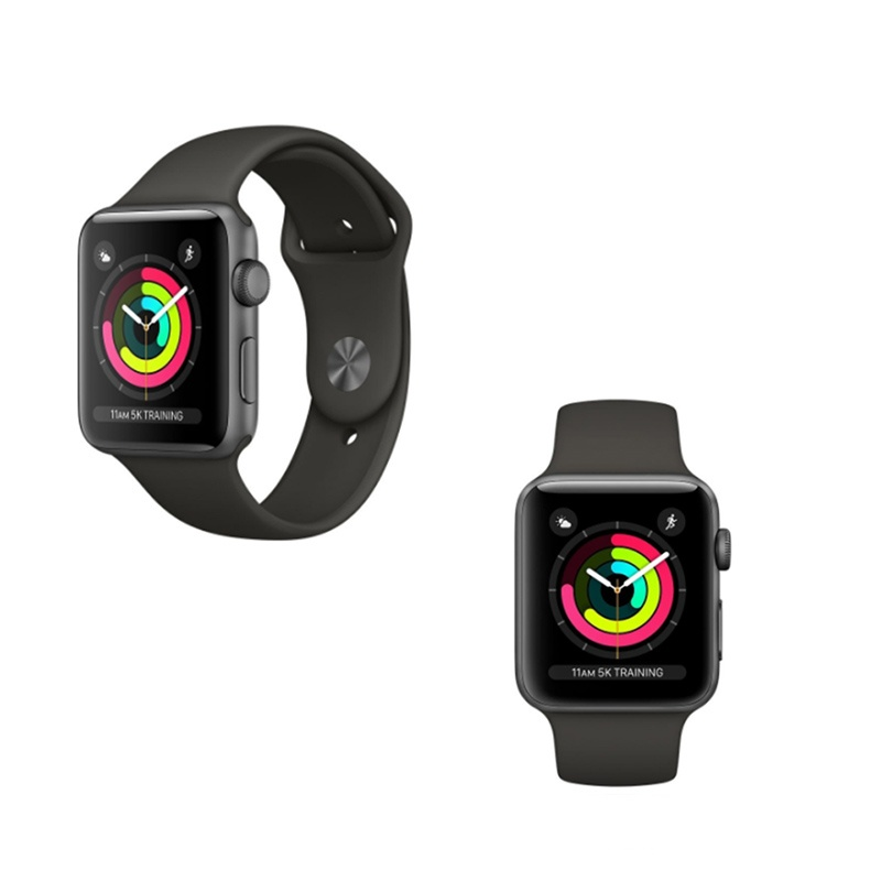 APPLE Watch series 3 42mm sideral grey reconditionnee grade A+ (photo)