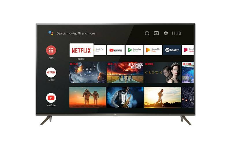TV 4K TCL 50EP640 Smart ANDROID (photo)