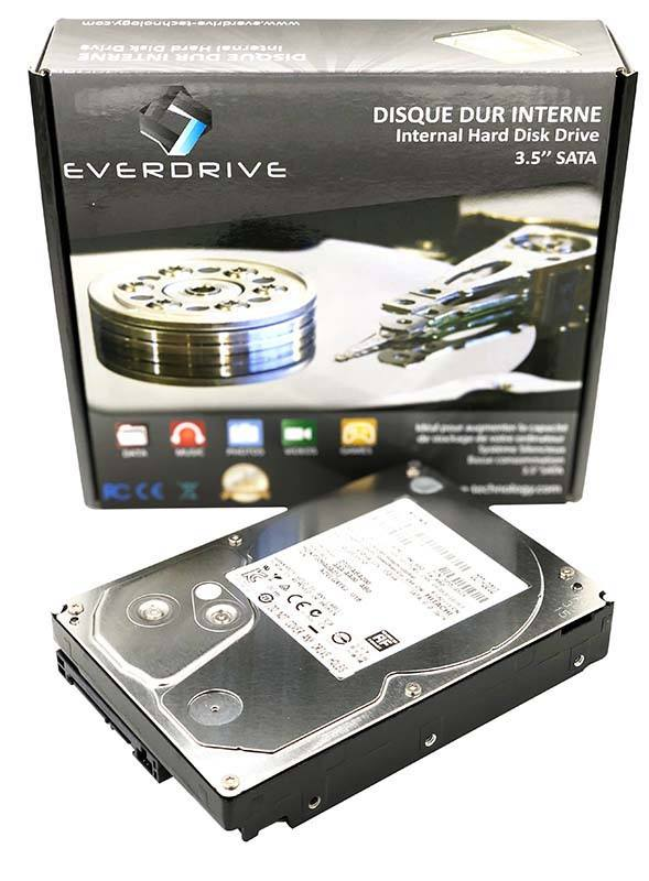Disque Dur interne EVERDRIVE HDD 3.5 SATA 4 To (photo)