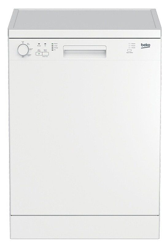 Lave-vaisselle 13 couverts BEKO LVP63W2 (photo)