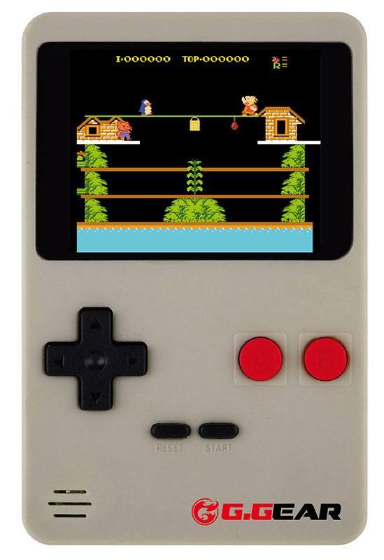 Console Jeux Port G.GEAR + 200 jeux (coloris gris ou rouge aleatoire selon disponibilite) (photo)