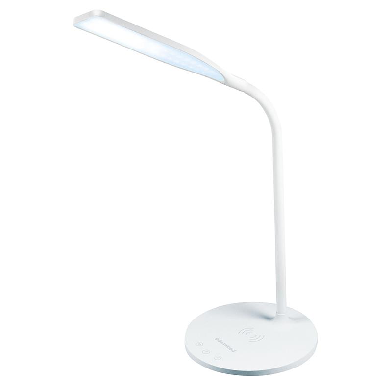 Lampe de bureau led avec chargeur induction (photo)