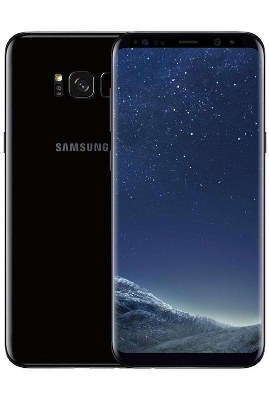 SMARTPHONE SAMSUNG GALAXY S8 64 GO NOIR RECONDITIONNÉ GRADE ECO (photo)