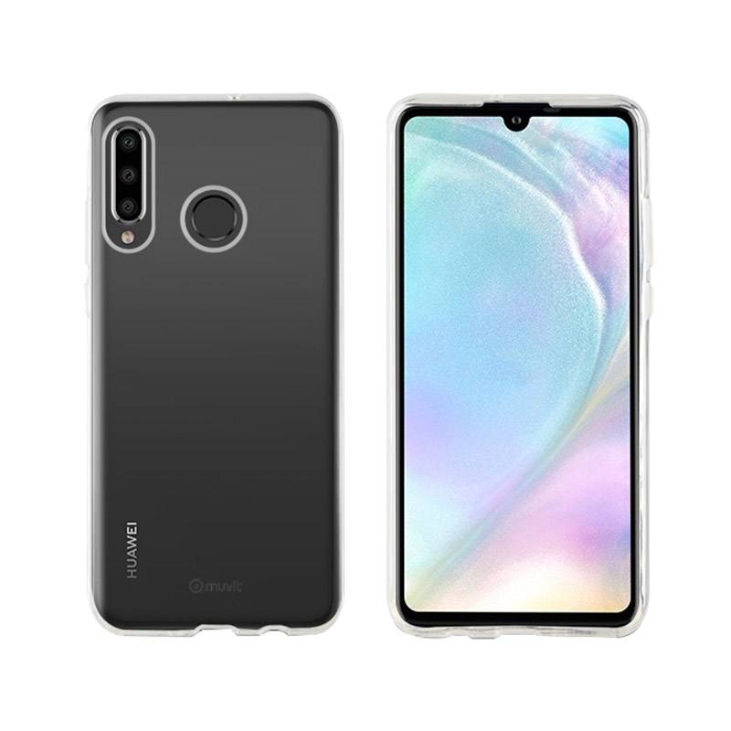 Coque MUVIT crystal soft HUAWEI P30 LITE (photo)
