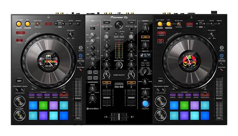 Controleur USB PIONEER DJ DDJ-800 (photo)