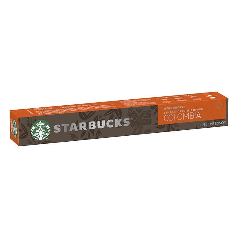 STARBUCKS® by Nespresso Single-Origin Colombia - 10 capsules