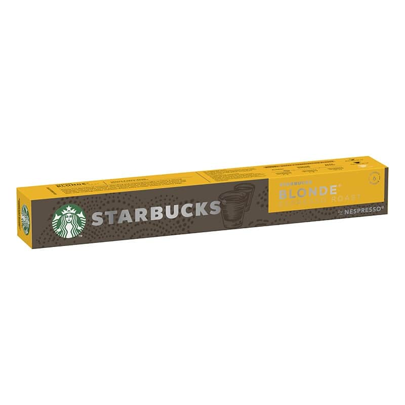 STARBUCKS® by Nespresso BLONDE® Espresso Roast - 10 capsules