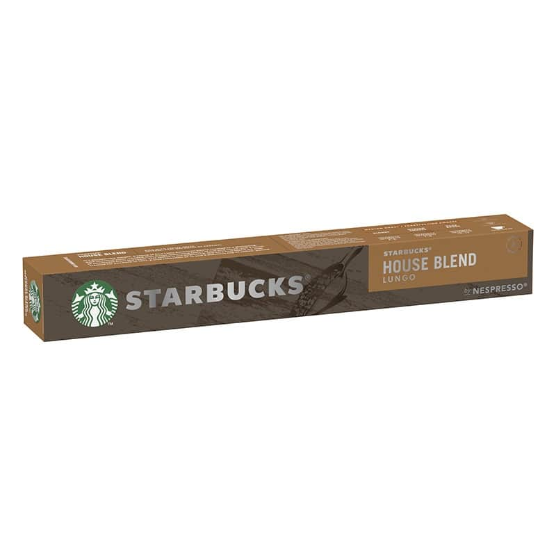 STARBUCKS® by Nespresso House Blend - 10 capsules