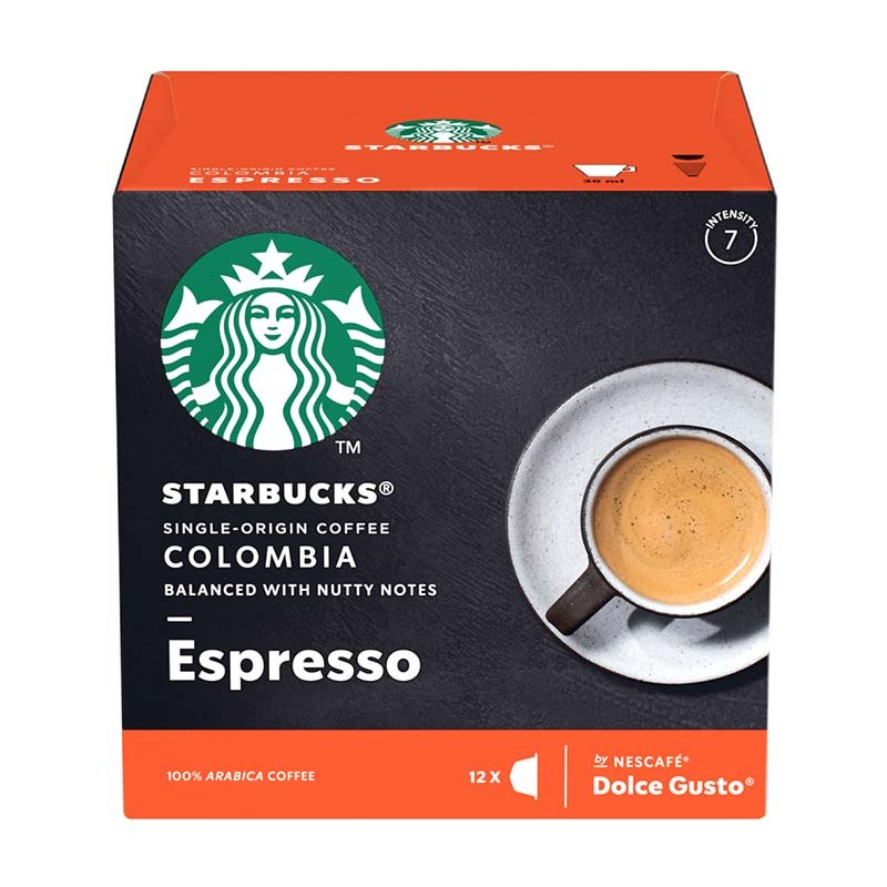 Capsules Starbucks® By Nescafe® Dolce Gusto® Single-origin Colombia X 12