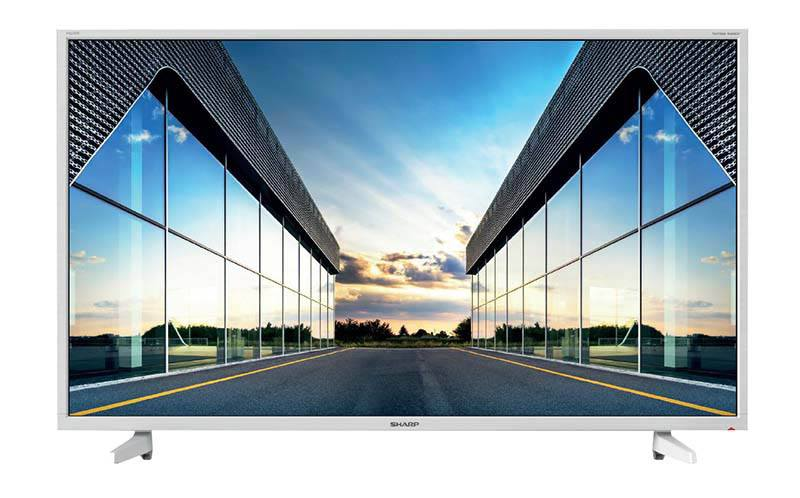 TV SHARP 40BF2EW FHD Blanc (photo)