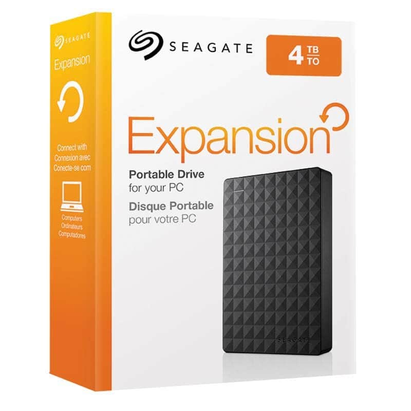 Disque Dur externe 2,5 SEAGATE Expansion 4To (photo)