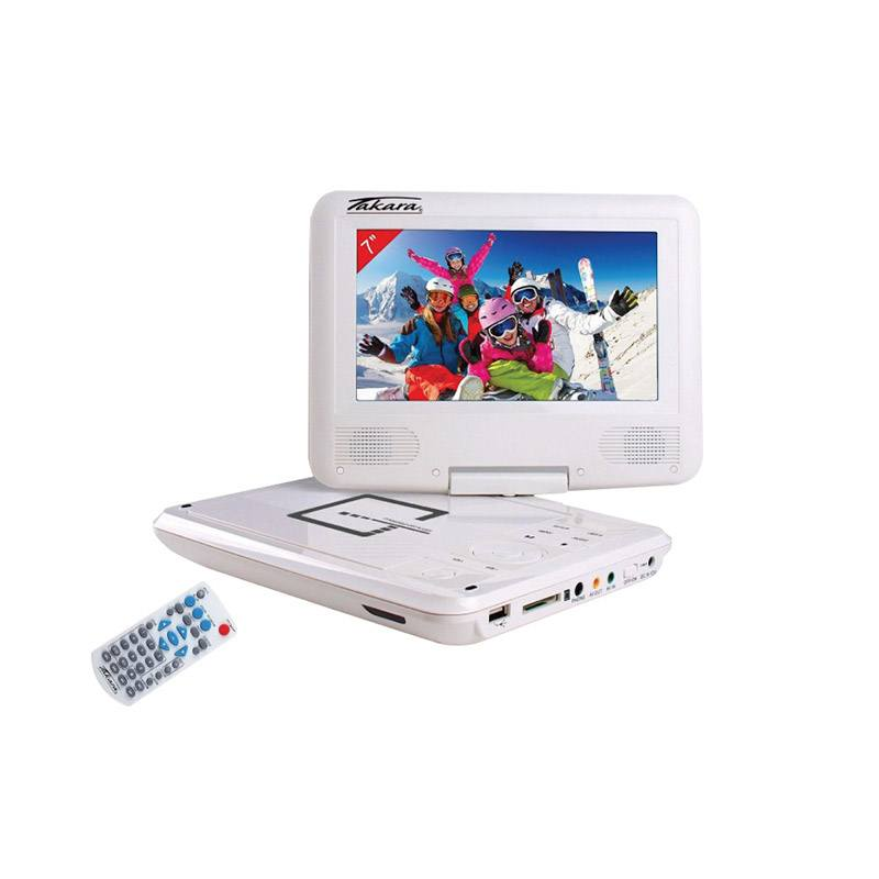 Lecteur DVD Portable TAKARA VR132W (photo)