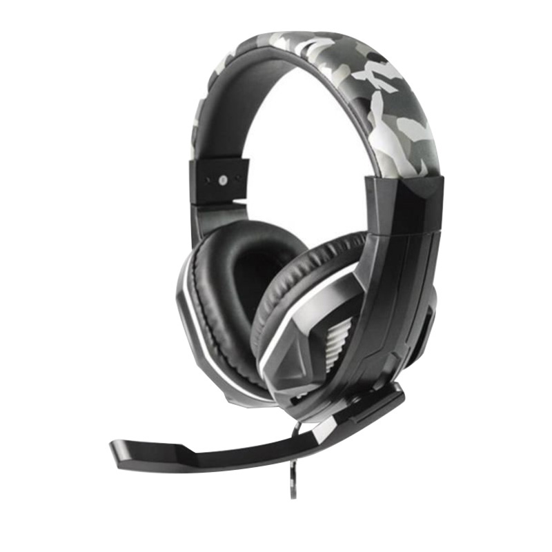 Casque gaming STEELPLAY camo compatible PC / PS4 (photo)
