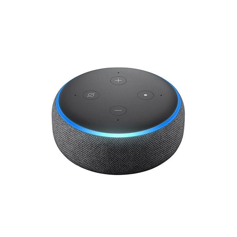 Assistant Vocal Amazon Echo Dot 3 Anthracite (photo)