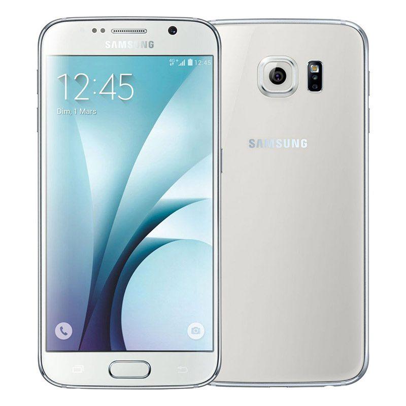 SMARTPHONE SAMSUNG s6 32 Go blanc reconditionne Grade A+ (photo)