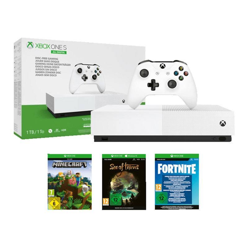 Console Jeux MICROSOFT XBOX ONE S All digital 1 To + 3 Jeux (photo)