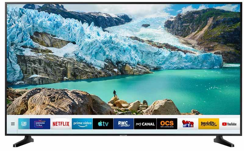TV 4K SAMSUNG UE55RU7092 SMART WIFI (photo)