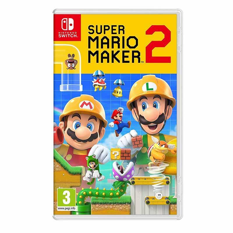 Jeu video NINTENDO Mario Maker 2 switch (photo)