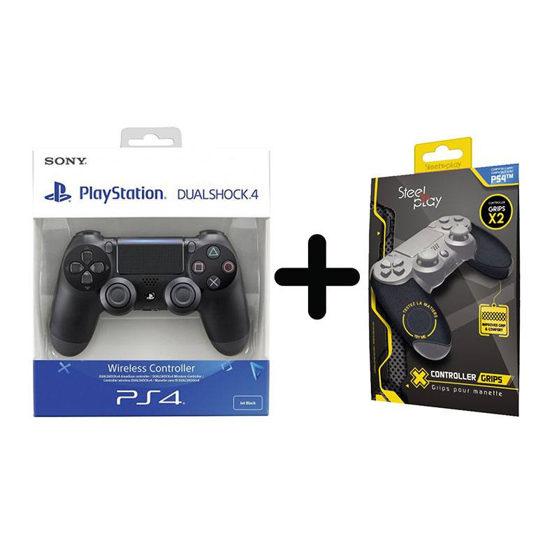 Manette SONY PS4 + GRIP (photo)