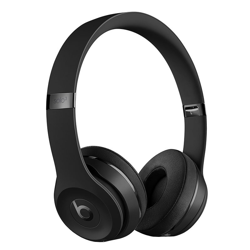 Casque Bluetooth BEATS SOLO 3 Reconditionne Noir mat (photo)