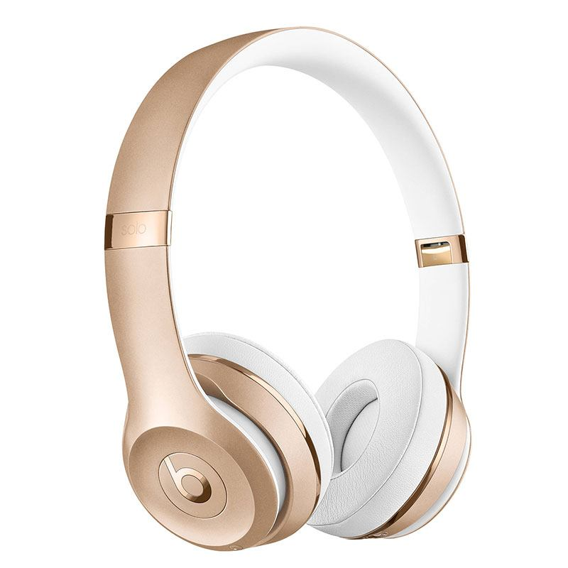 Casque Bluetooth BEATS SOLO 3 RECONDITIONNE OR (photo)