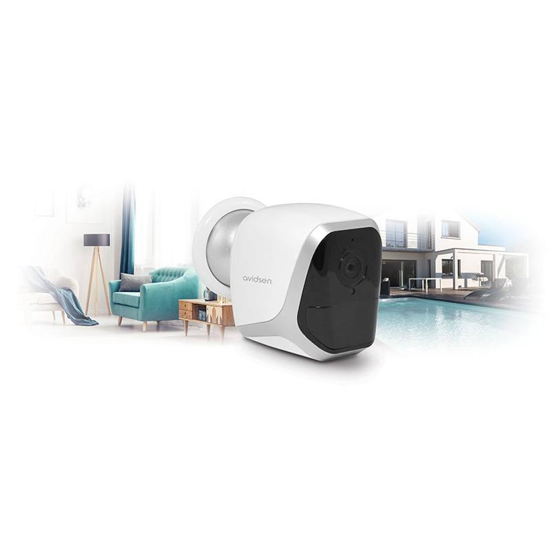 Camera De Securite Avidsen Ip Wifi Autonome