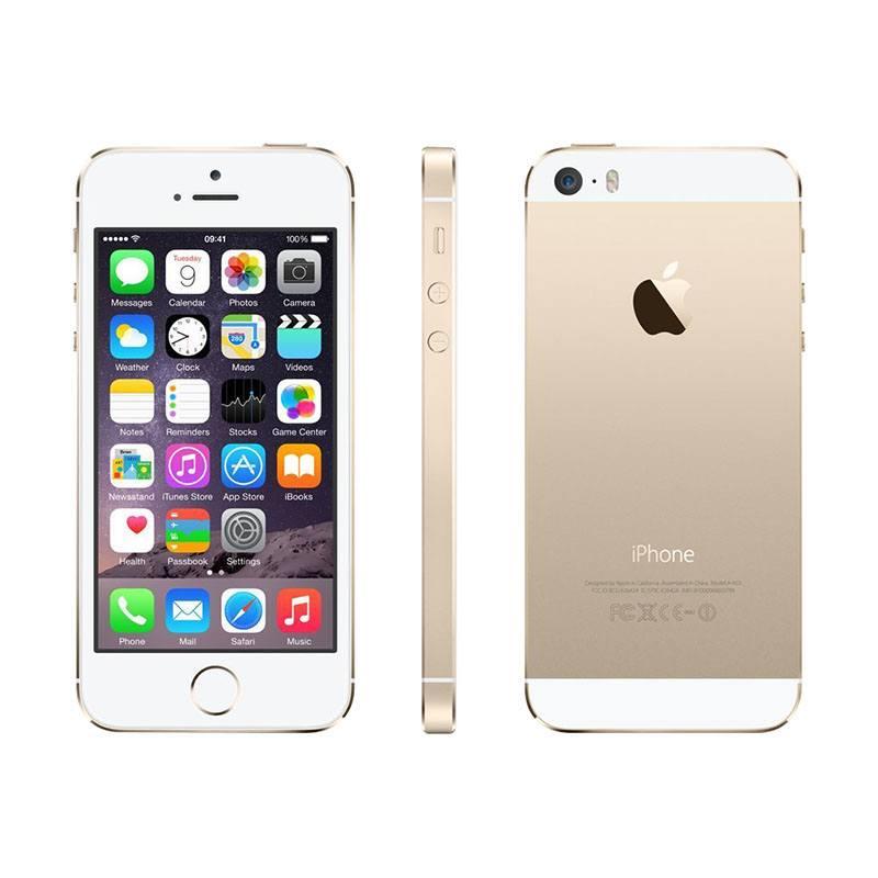 APPLE IPHONE 5S 16 GO OR RECONDITIONNÉ GRADE ECO + COQUE DE PROTECTION (photo)