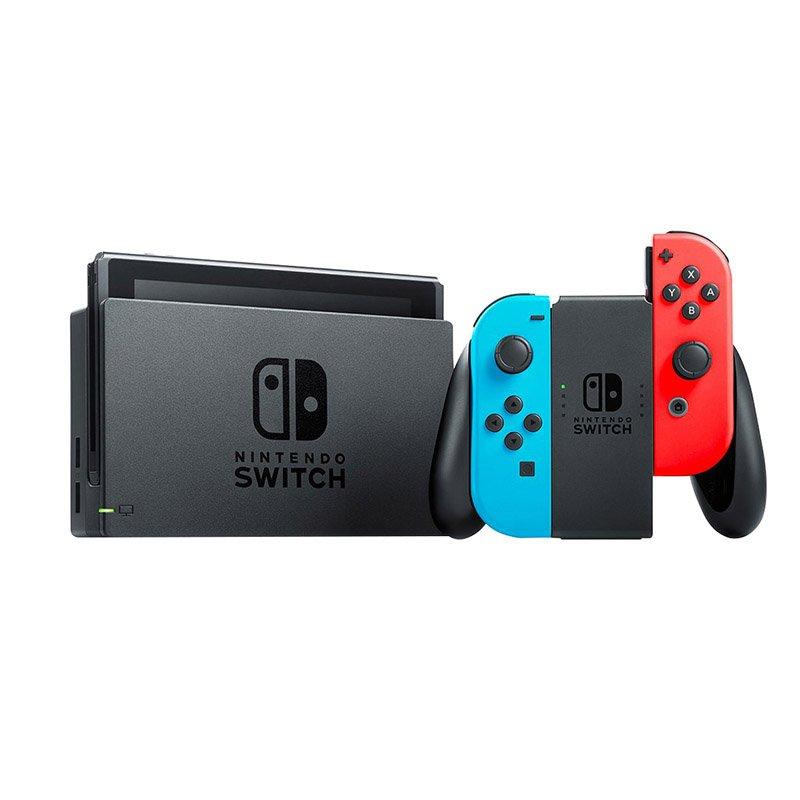 Console de jeux NINTENDO Switch neon (photo)