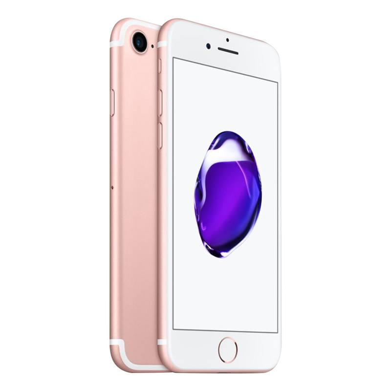 Apple Iphone 7 128 Go Pink Gold ReconditionnÉ Grade Ec0 + Coque (photo)
