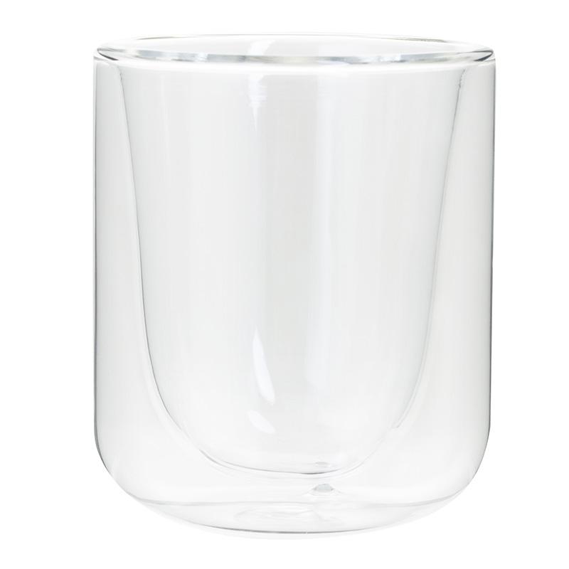 Tasse à cafe 10cl avec double paroi en verre (photo)