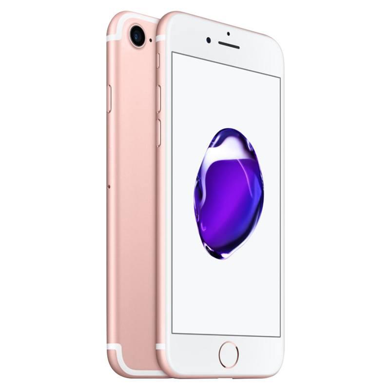 APPLE IPHONE 7 128 GO ROSE RECONDITIONNÉ GRADE EC0 + COQUE & VERRE TREMPE (photo)