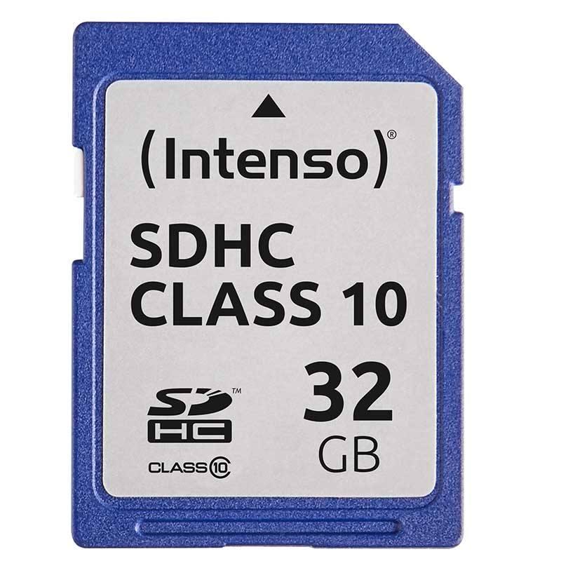 Carte SD INTENSO 32 Go Class 10 (photo)