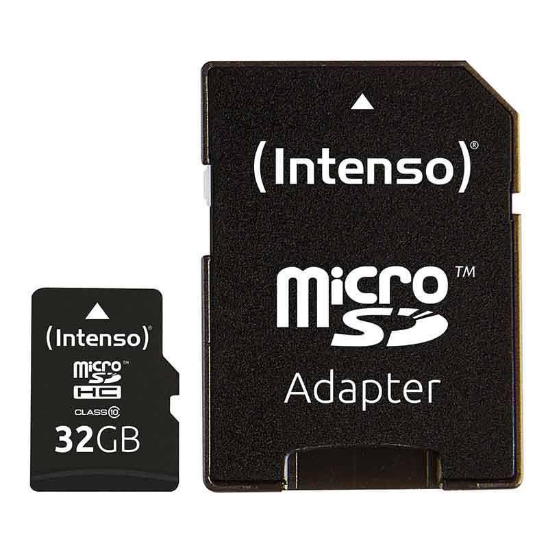 Carte Micro Sd Intenso 32go + Adaptateur Sd