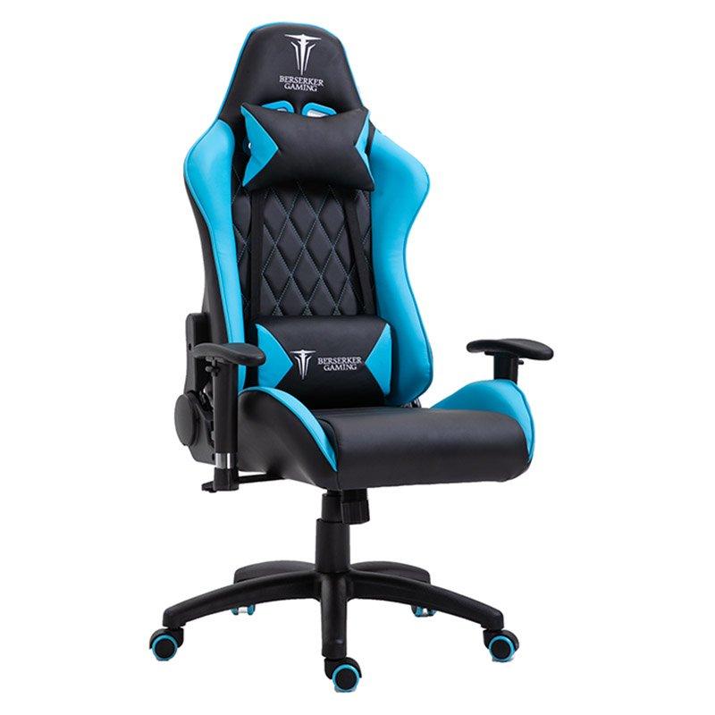 fauteuil gaming BSK FORSETI NOIR/BLEU (photo)