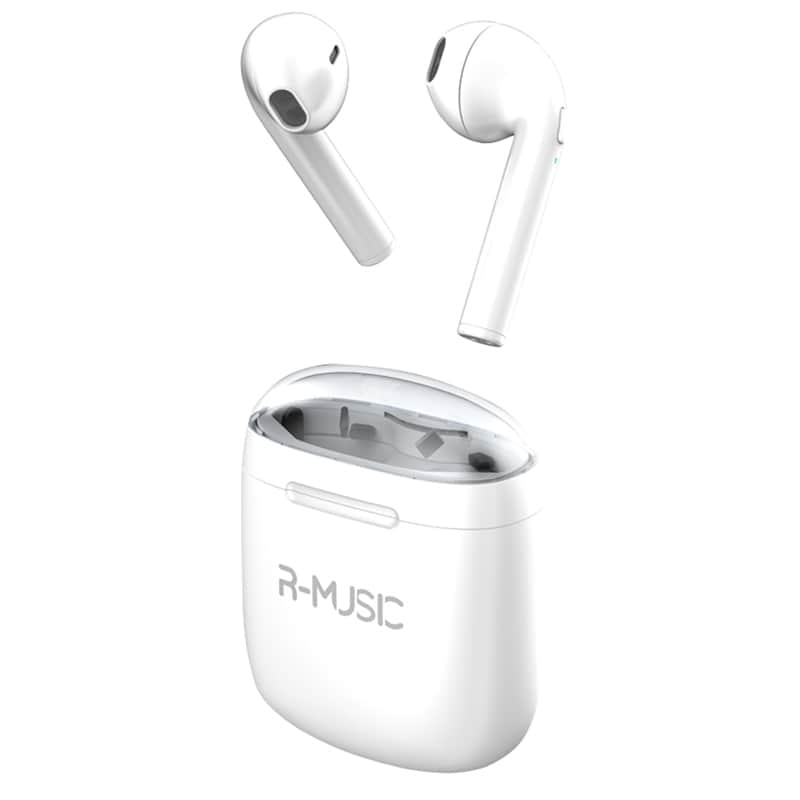 Écouteur Bluetooth R-MUSIC TWS AKKOR 2 Blanc (photo)
