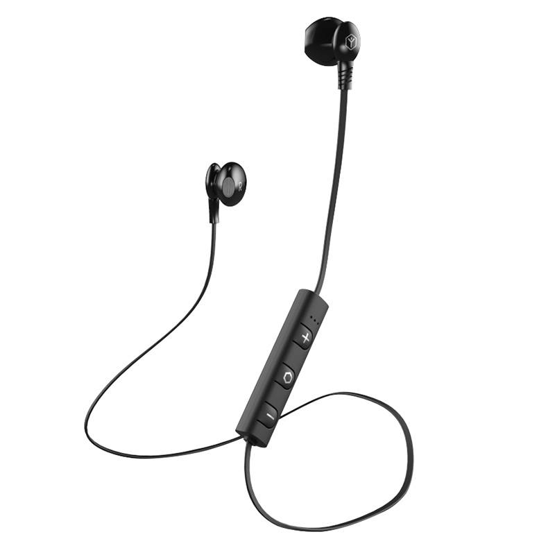 Ecouteurs RYGHT PARO Noir Bluetooth (photo)