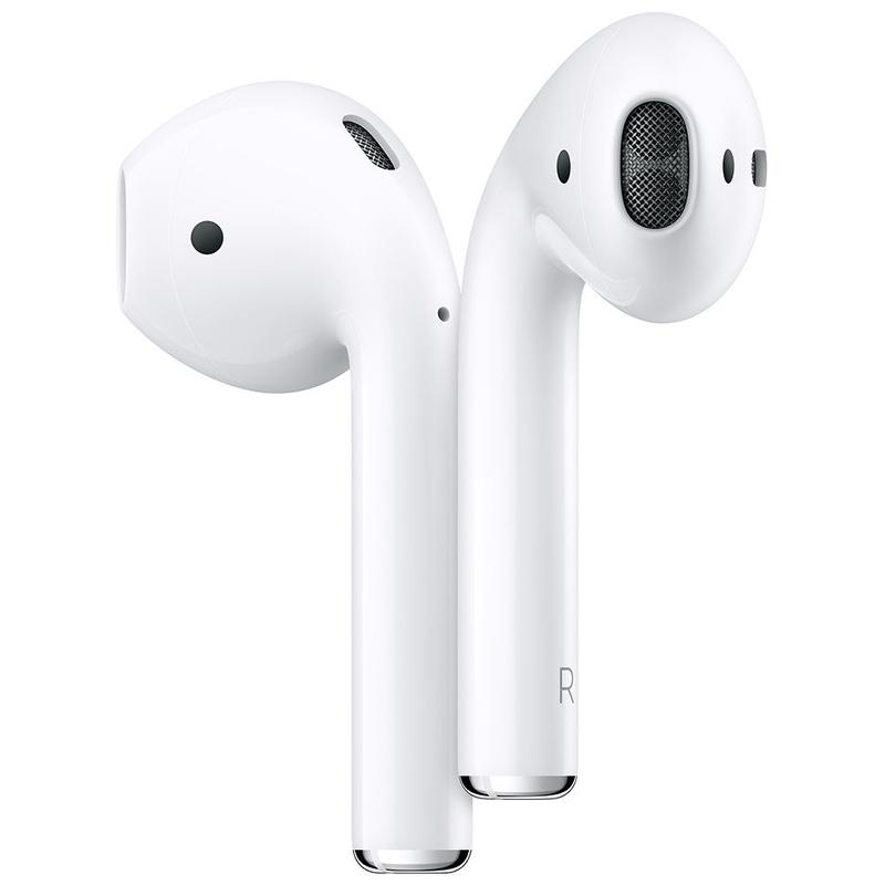 Ecouteurs Apple AirPods 2 + etui de charge (photo)