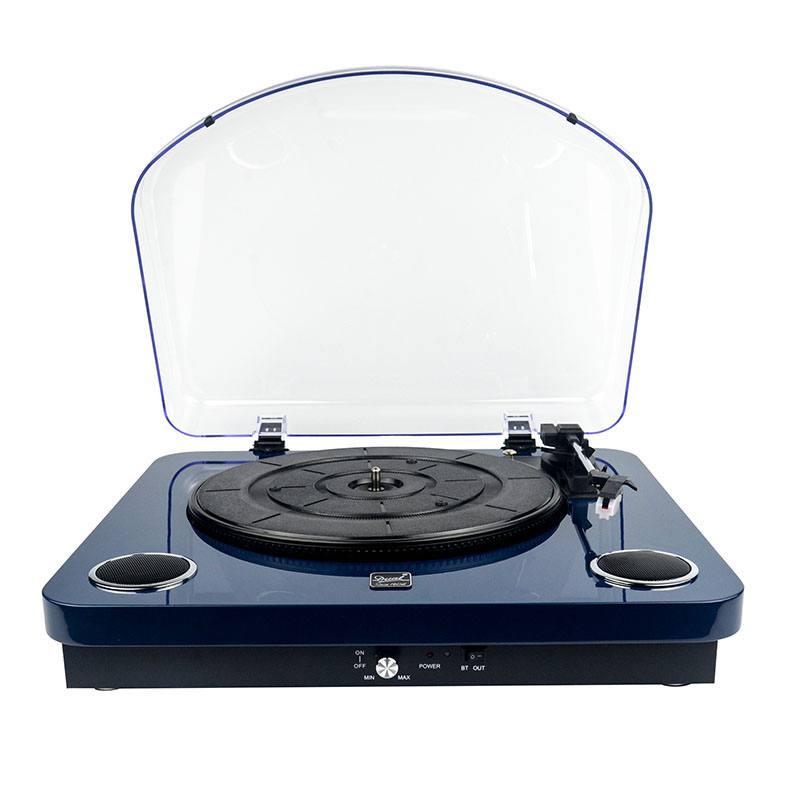 Platine Vinyle Dl-p10db Bleu