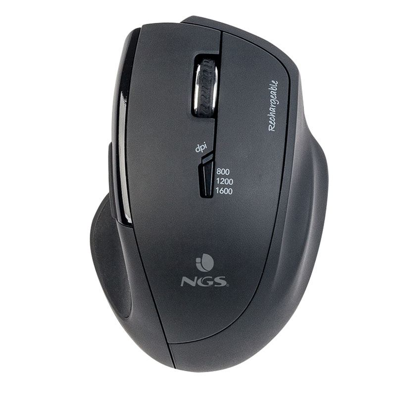 Souris sans fil NGS Rechargeable - SPY-RB (photo)