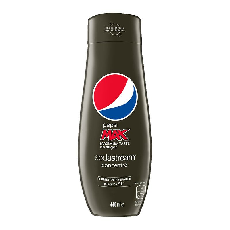 Concentré Sodastream Pepsi Max 440ml (photo)