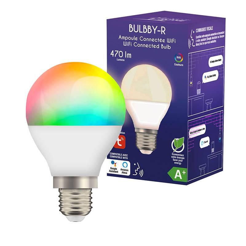 Ampoule Connectée Logicom Home Bulbby-r E27 (photo)