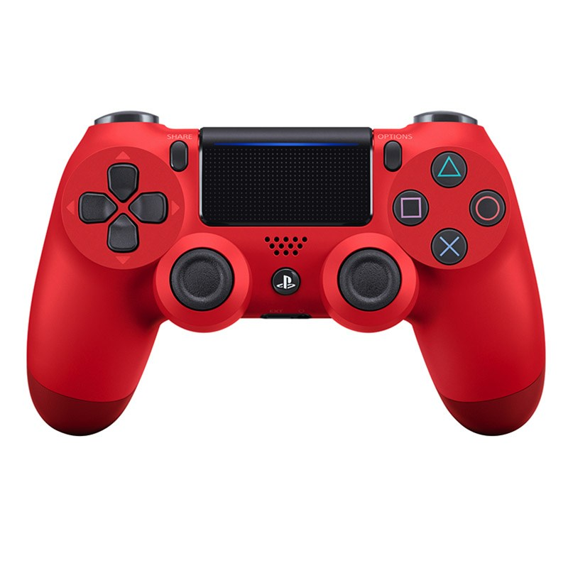 Manette SONY PS4 DUAL SHOCK ROUGE (photo)