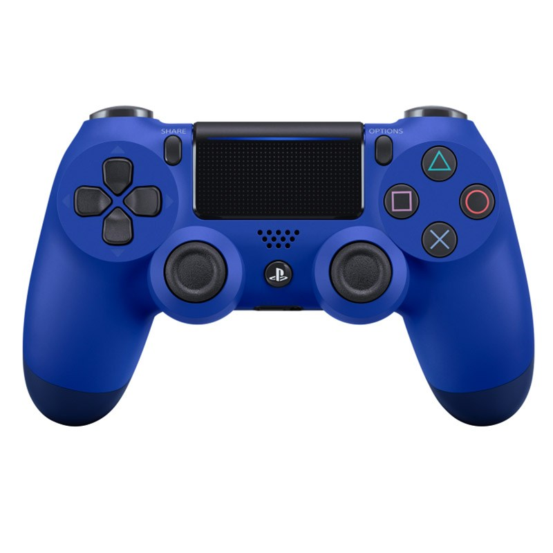 Manette SONY PS4 DUAL SHOCK BLEUE (photo)