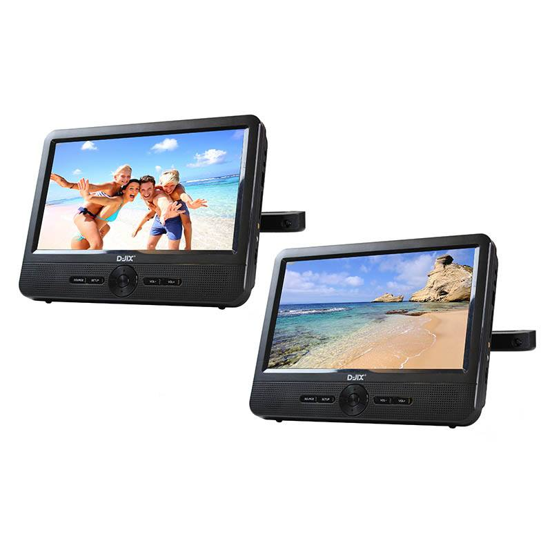 DVD Portable D-JIX TWIN Double player (photo)