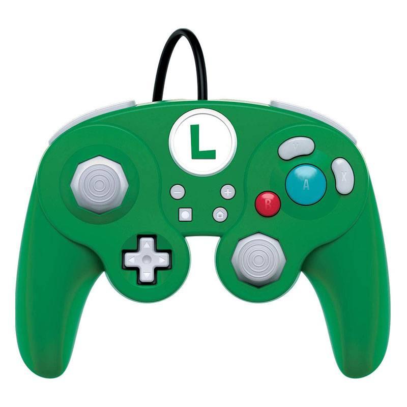 Manette filaire PDP pour Nintendo SWITCH LUIGI (photo)